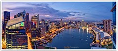 (Vin PSK) Tags: landscape singapore cityscape centralbusinessdistrict marinabay