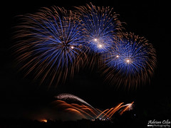 Malta --- Luqa --- Fireworks (Drinu C) Tags: longexposure shells night fire colours fireworks sony malta dsc luqa hx9v adrianciliaphotography