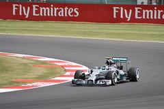Nico Rosberg, Mercedes F1 W05 Hybrid (Crackers250) Tags: cars car sport race speed mercedes track f1 racing silverstone formulaone motor circuit formula1 santander motorsport w05 2014 fp2 britishgrandprix luffield nicorosberg f1w05hybrid
