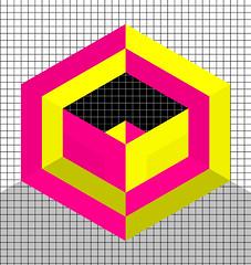 HEXELS (feru-leru) Tags: square grid shapes hexagon estera leru cibe hexels feru feruleru lazowska