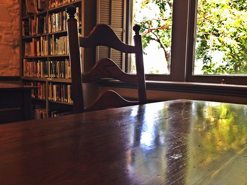 Books, Chair, Window