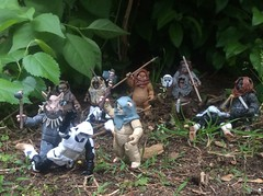 The Ewok Rebellion has begun! (chevy2who) Tags: scale toys star action scout battle ewok return jedi biker wars figures 118 endor 334