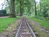 On Track (Nibbler1977) Tags: park trees tree train canon miniature track derbyshire perspective tracks rail railway powershot rails distance matlock a480