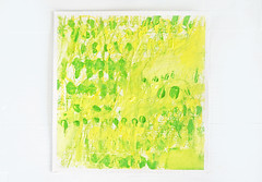 Edamame to okutah'vu (2014) oil on arches paper 300g 200x200mm (mayakonakamura) Tags: abstract colour painting paper tokyo dress view oil form nakamura rapu mayako hachioji modeste caluson