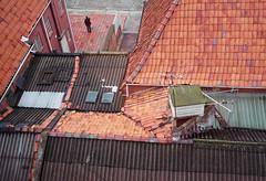 . (RoryO'Bryen) Tags: rooftops bogotá colombia colombie roryobryen rangefinder copyrightroryobryen colombian techos santafédebogotá scannedfromnegative kodak portra iso400 film 35mm leicasummiluxm35mmf14 leicasummiluxm35mmf14asph leicam leicamp leica mp analogue