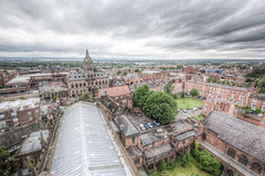 Chester Cathedral at Height (Mark Carline) Tags: tower tour cathedral chester hdr