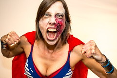 Zombie Jello Wrestling 2014-3 (rich tarbell) Tags: ladies girls sexy sex dark virginia blood women zombie wrestling goth va gore charlottesville jello morgan moran wrestle rapture 2014