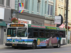 London Transit Commission 124 (YT | transport photography) Tags: new bus london flyer transit commission d40lf