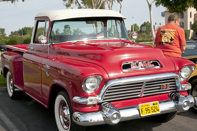 pickuptruck 100 v8 hydramatic 1956gmc