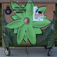 neeli pler-2 (zeynepyil) Tags: art garbage istanbul p