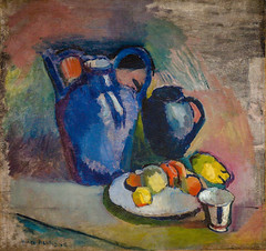 Henri Matisse - Still Life with Blue Jug, 1903 at San Francisco Museum of Modern Art - viewed at the Legion of Honor (mbell1975) Tags: life sanfrancisco california ca blue art fruit museum modern painting french still san francisco gallery museu with unitedstates fine arts sfmoma honor palace muse calif musee m cal impressionism jug palais museo matisse impression impressionist henri muzeum legion 1903 viewed finearts beauxarts mze museumuseum