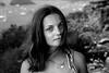 Her. (southamericacrew) Tags: sunset brazil woman nature girl smile hair flickr mysterious djungel