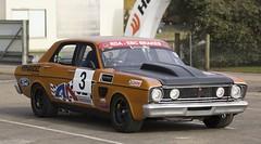 Aussie Muscle Car (simon60d) Tags: classic ford race racecar muscle musclecar racer raceway