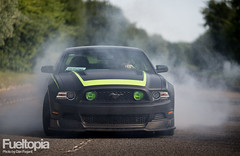Ford Mustang RTR (Dan Fegent) Tags: usa car power awesome engine automotive american burnout fordmustang v8 musclecar supercharger supercharged rwd matteblack readytorock smokeshow rearwheeldrive rtr 600bhp worldcars fueltopia vaughngittinjnr rtrspecialedition 57litrev8