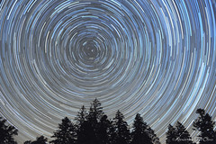 Star trails 2014 07 24 (achrntatrps) Tags: night nikon photographer nightshot suisse nacht astrophotography nuit startrails astrophoto photographe sapins lachauxdefonds astrophotographie d700 filédétoiles nikkor2470mmf28 dellolivo alexandredellolivo nikonswitzerland