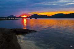 Sunrise (doveoggi) Tags: lake newyork mountains sunrise upstate adirondacks hamiltoncounty 0906 piseco adirondackstatepark