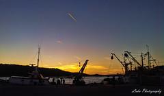 Sunset (Luka Photography) Tags: sunset sea sky art beautiful boat photo fisherman holidays croatia more hdr autofocus morje malilošinj hrvaška theoriginalgoldseal lukalab lukaphotography