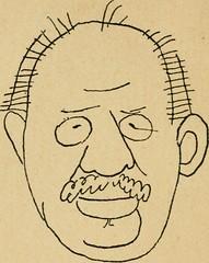 """Image from page 15 of """"Panoptikuma : irók és hirlapirók karrikaturái"""" (1913)"""