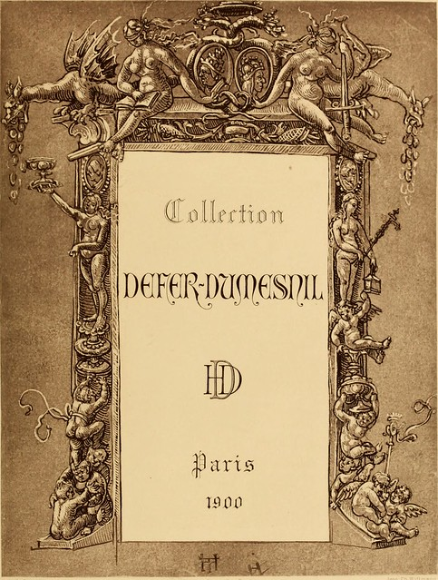 Image from page 16 of Catalogue de tableaux, dessins, aquarelles, gouaches & miniatures des écoles Allemande, Espagnole, Flamande, Française, Hollandaise, et Italienne,. composant la collection Defer-Dumesnil (1900)