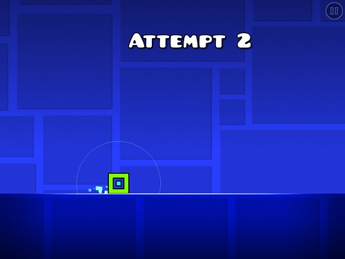 Geometry Dash Gameplay: screenshots, UI