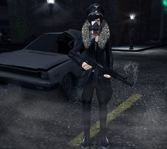 Let me kill monsters for you (ik L) Tags: life blue flower tree love tattoo eyes weed gun shoot mature secondlife weapon drugs second monsters drama cannabis marihuana alcohool