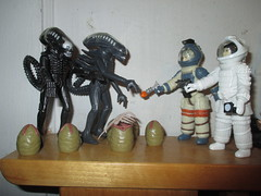 Alien Egg Pods and Ripley - Aliens 2154 (Brechtbug) Tags: alien egg pods ripley aliens scifi science fiction tv television show creature monster action figure toy toys space galaxy universe funko prometheus engineer figures series 1 ridley scott film movie xenomorphs like 2017 reaction original super7 retro active kenner type kane designed canceled for 1979 face hugger chest burster xenomorph facehugger chestburster helmet