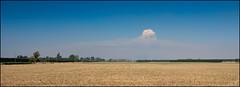 Pyrocummulus over the Canterbury Plains (katepedley) Tags: canterbury porthillsfire wildfire fire pyrocummulus southisland newzealand new zealand south island canterburynz christchurch canon 5d 1740mm polariser rural smoke clouds