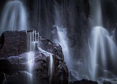 Moody Waterfall (andreassofus) Tags: waterfall streaming water rocks mood nature landscape intimate intimatelandscape skäktefallet brusslöjan vargön halleberg hunneberg sweden canon
