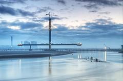 Bridgebuilding (Jeffpmcdonald) Tags: merseygateway rivermersey bridge runcorn widnes wiggisland uk nikond7000 jeffpmcdonald march2017