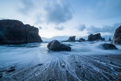 Tides of Change (Justin Knott) Tags: long exposure roads end lincoln city coast water ocean nikon d800 rokinon 14mm sunset rocks
