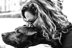 Momma and Her Boy (zerokhmer) Tags: nikon d300 35mm 35mm18 3518 nikkor35mm18 f18 f18g afs dx newyork dog dogs