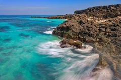 _U1H1737.1 Ly Son Island,Quang Ngai,0316 (HUONGBEO PHOTO) Tags: quảngngãi cảnhđẹplýsơn đảonhỏlýsơn đảolýsơn asia lysonisland vietnamscenery vietnamseascape scenery bluesky sky longexposure rock mountains outdoor oceanwaves seascape