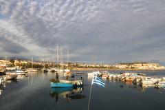 ... (Theophilos) Tags: sea sky clouds morning boats marina rethymno crete θάλασσα ουρανόσ σύννεφα πρωί μαρίνα βάρκα ρέθυμνο κρήτη