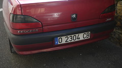 Peugeot 306 (Jusotil_1943) Tags: 140317 coche red auto car redcars