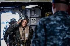 170401-N-JH293-002 (U.S. Pacific Fleet) Tags: ussgb greenbay ussgreenbay lpd20 japan sasebo bhr esg ctf76 forwarddeployed us7thfleet pacific ocean water navy ship sailors wisconsin packers vmm262 31stmeu nbu7 marines bonhommerichard bhresg patrol atsea waterseastofthekoreanpeninsula jpn
