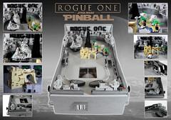 Rogue One Pinball Machine Details (modestolus) Tags: ids imperiumdersteine mocolympics lego legobrick legomoc moc legobuilding starwars rogueone deathstar scarif mustafar stardestroyer jedha