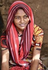 Young Bedouin Woman (owilybug) Tags: sudan sudanese bedouin woman portrait canon canon5d travel africa desert wanderlust islam muslim