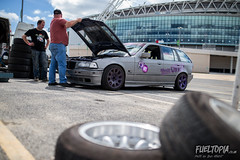 Fueltopia Barrel Sprint @ Wembley Stadium (Dan Fegent) Tags: fueltopiabarrelsprint fbs fueltopia barrelsprint wembleystadium london uk england qualifier gymkhanagrid ft grassroots awesome fun wicked brilliant bikes motorbikes cars automotive canon1dx fullframe eos1 proseries behindthescenes vlog lukewoodham monsterenergy