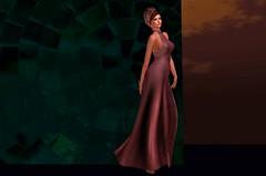 The Early Morning walk (JoytiBloom of Second Life) Tags: gown fashion rose barelylegalcouture designershowcase whisperhaltergown tableauvivant tormentia catwa maitreya originalmesh mesh