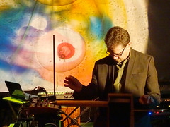 Chris Conway @ Quadelectroic 106 (unclechristo) Tags: chrisconway quadelectronic theremin