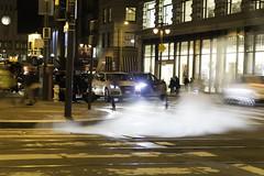 ghosts in fog (backonthebus) Tags: sanfrancisco city fog street large sewer steam building pedestrians