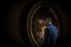 The Kiss in the Mirror (♥siebe ©) Tags: 2017 nederland siebebaardafotografie bruidsfotografie bruiloft marriage trouwen wedding wwwmooietrouwreportagesnl photography holland netherlands bruidsfoto bruidsreportage dutch trouwdag trouwreportage weddingday kiss kus mirror spiegel reflection couple lovers