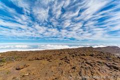 Haleakala Cloud and Rockscape (j . f o o j) Tags: maui haleakala hawaii aloha cloudporn skyporn foamporn