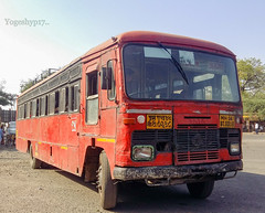 Akola - Jalgaon jamod (yogeshyp) Tags: msrtc msrtcparivartanbus maharashtrastatetransport akolajalgaonjamodstbus