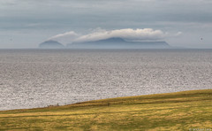 Foula; off the west coast of the Shetland Islands, North Atlantic, (Michael Leek Photography) Tags: island islands remote shetland michaelleek shetlands shetlandislands shetlandisland foula foulaisland cloud mist fog sea ocean northatlantic atlantic michaelleekphotography landscape scotland scottishlandscapes scotlandslandscapes scottishcoastline wild nature travel2017 distant clouds haze winter