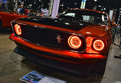 1969 Ford Mustang Coupe (Chad Horwedel) Tags: 1969fordmustangcoupe fordmustangcoupe ford mustangcoupe wow17 worldofwheels wow classic car hotlava custom donaldestephensconventioncenter rosemont illinois