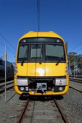 Sunny Blacktown Yard (jamesmp) Tags: sydneytrains railcorp cityrail downerrail reliancerail hitachi waratah electricmultipleunit emu suburbantrain localtrain electrictrain blacktown newsouthwales australia