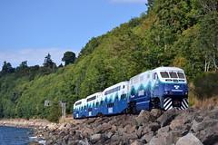 "Sounder 906 (Vinny Gragg) Tags: train trains engine locomotive loco choochoo railroad railway seattle washington ""seattlewashington"" carkeekpark sounder906 sounder 906 soundtransit pacificocean pacific ocean sound transit"