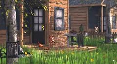 Howdy Neighbor (Alexa Maravilla/Spunknbrains) Tags: runicdesign cottage trees cosmopolitan chezmoi panavia littlebranch kiddcreation secondlife outdoors cartoon spring home building architecture