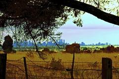 Near enough to the City! (maginoz1) Tags: melbourne city clouds storm manipulate march 2017 autumn sky bulla metro victoria australia canon g3x skyscape landscape